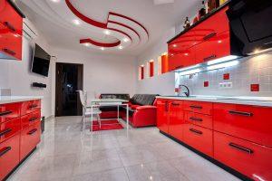kuchnia-czerwono-czarna